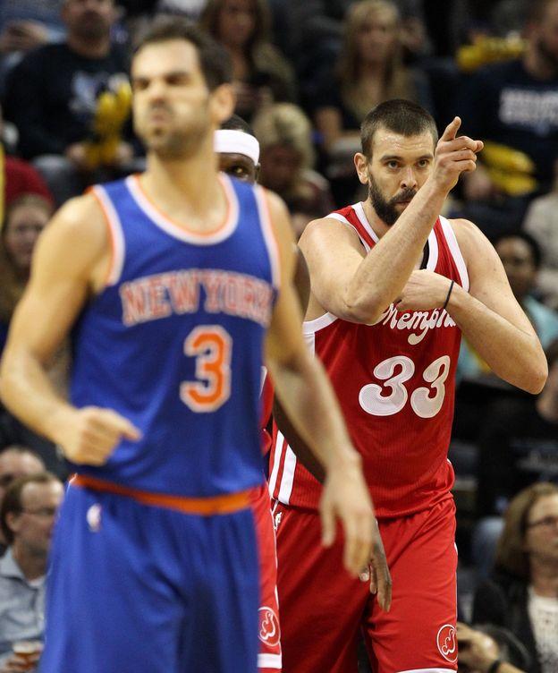 Foto: Fue el segundo partido de la temporada entre Knicks y Grizzlies (Mike Brown/Efe)