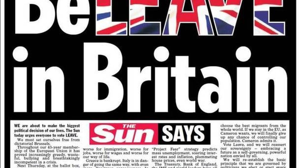 El 'Brexit', protagonista de las portadas de la prensa internacional