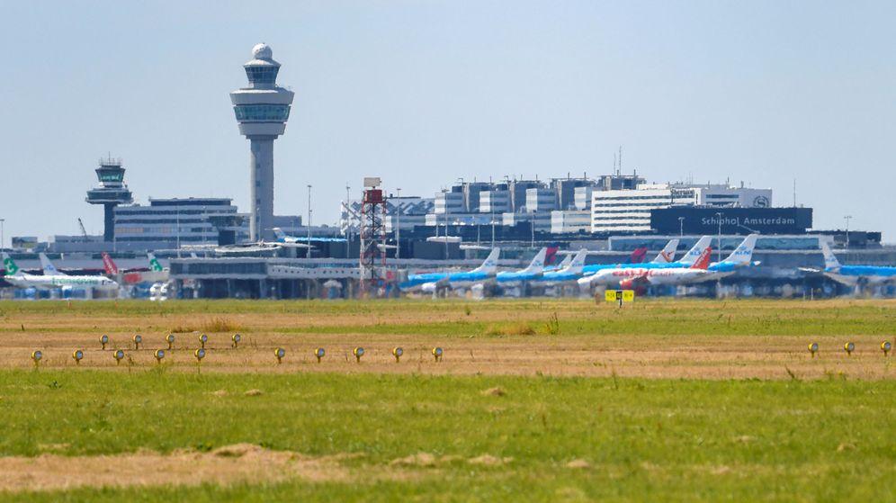 Foto: Aeropuerto de Schiphol, Ámsterdam. (Reuters)