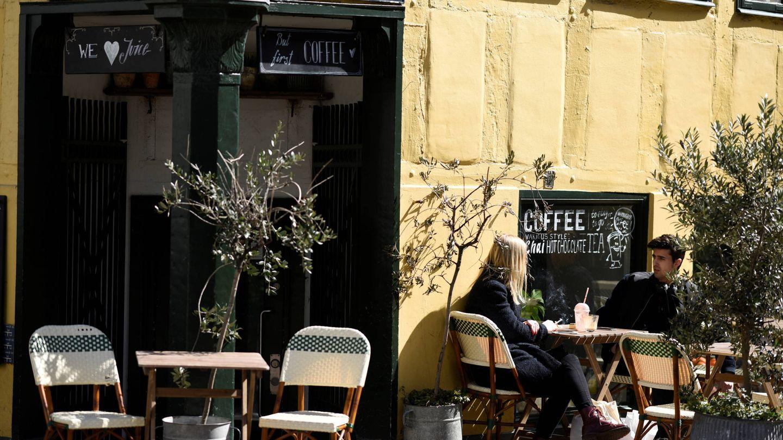 Cafetería en la zona de la Universidad de Copenhague en la capital danesa. (Reuters)