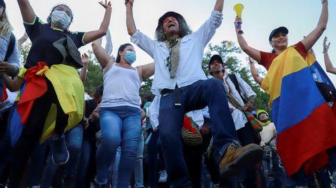 Miles de colombianos vuelven a poner en jaque al Gobierno en las calles