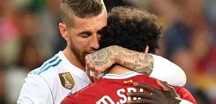 Post de El disgusto de Sergio Ramos por Salah y su cariñoso encuentro con Florentino