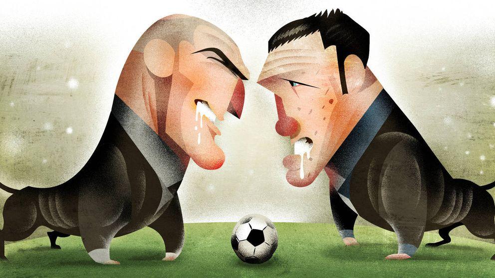 De Marcelo a Cristiano Ronaldo: el pasillo que atormenta a Simeone