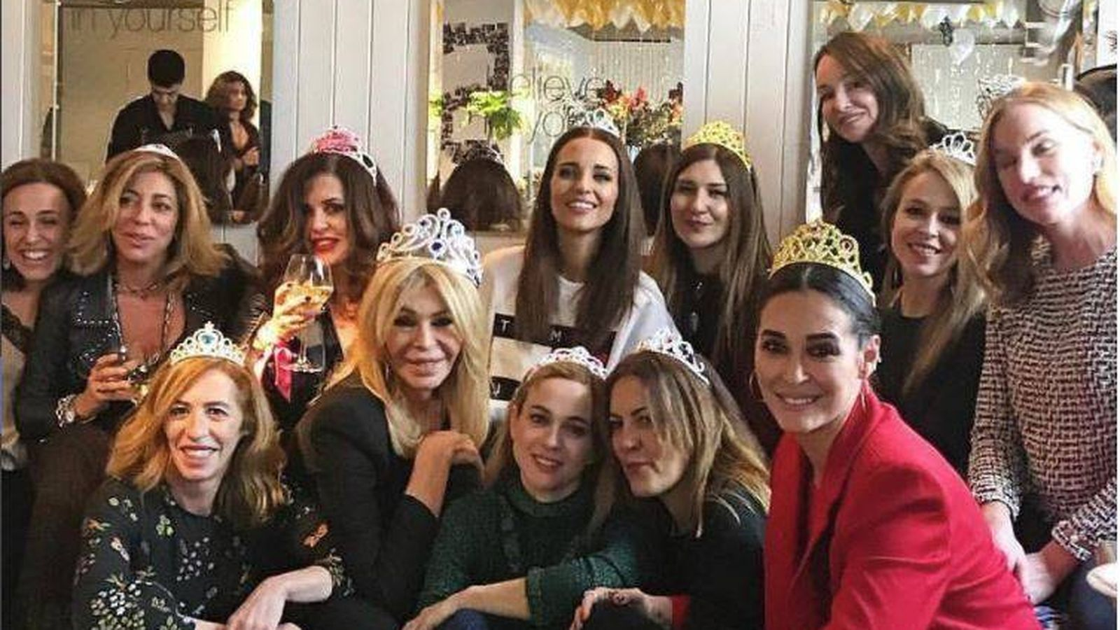 Foto: El fiestón de cumpleaños de Natalia de la Vega (Tacha Beauty). (Instagram Mª Eugenia León)