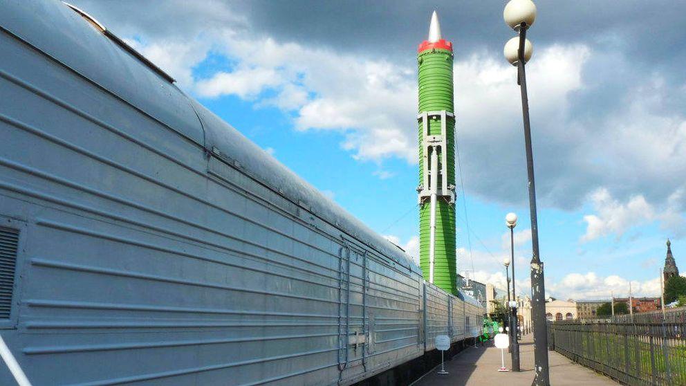 El tren del apocalipsis: Rusia prueba su nuevo sistema de misiles nucleares