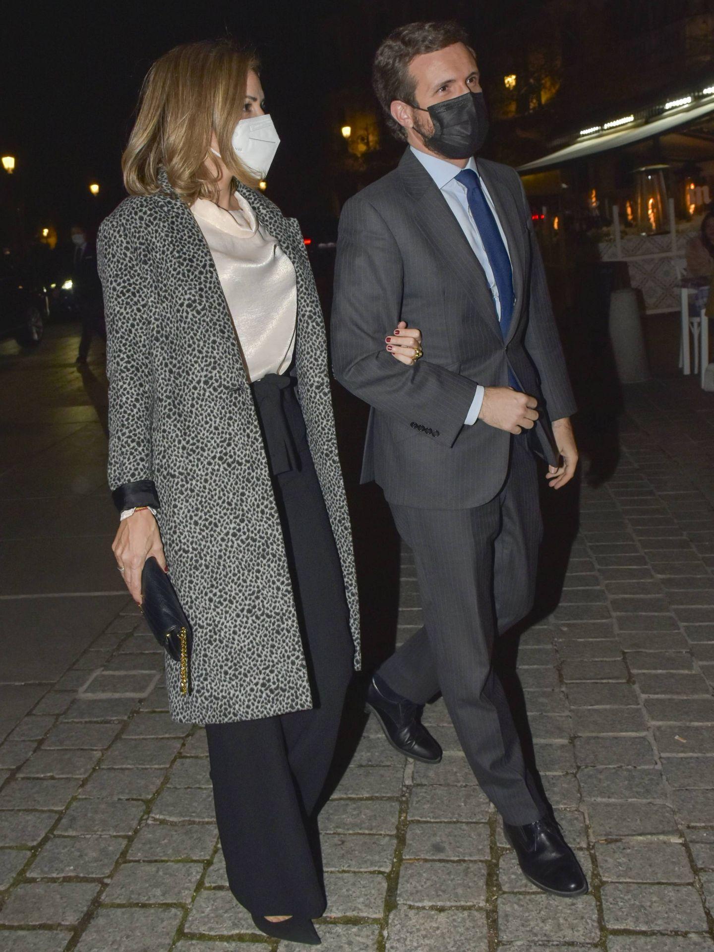 Pablo Casado e Isabel Torres. (CP)