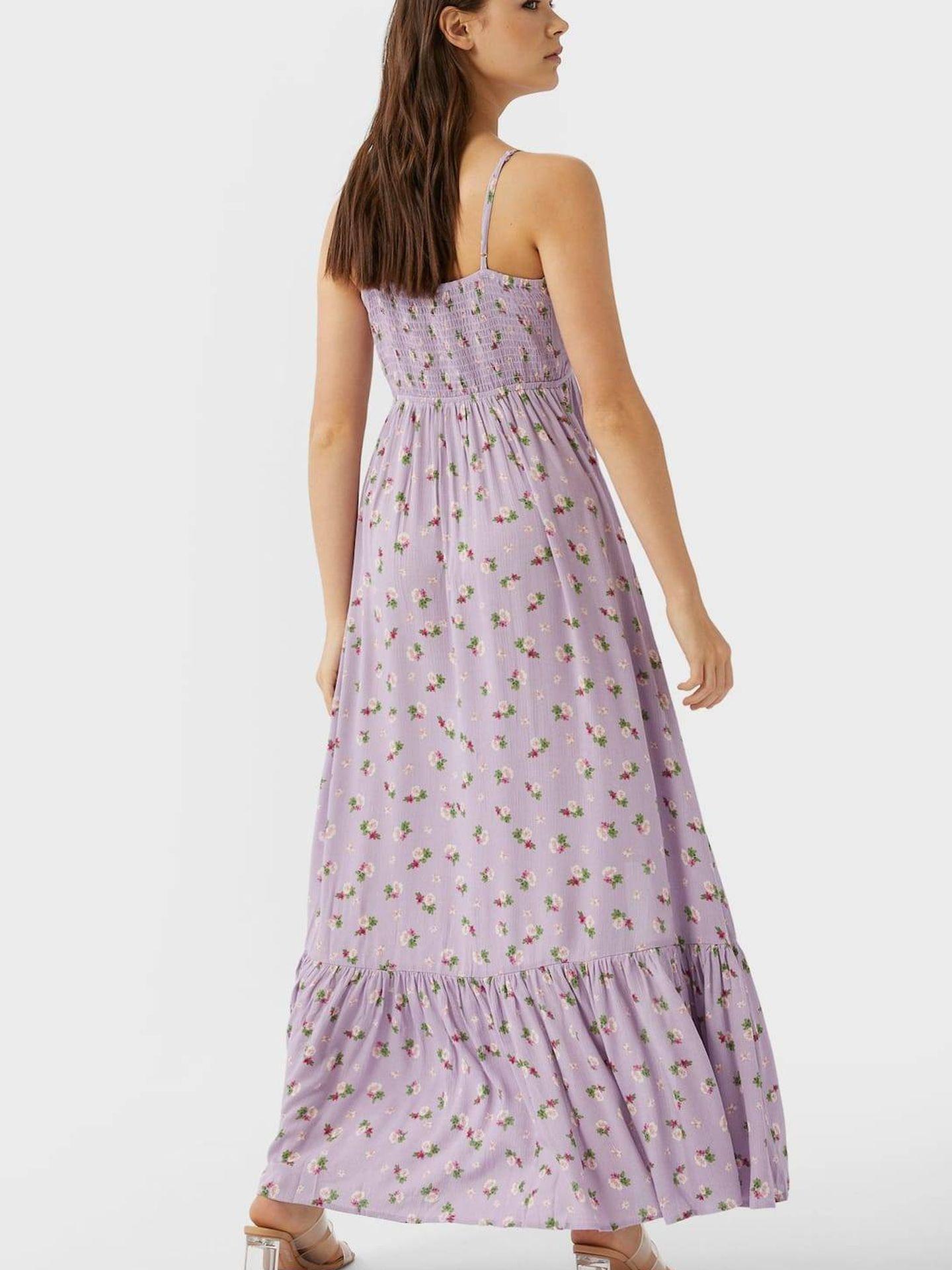 El vestido de Stradivarius. (Cortesía)