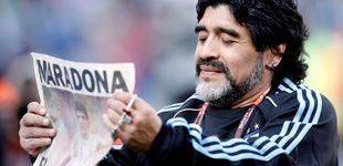 Post de Maradona, la droga de Dios