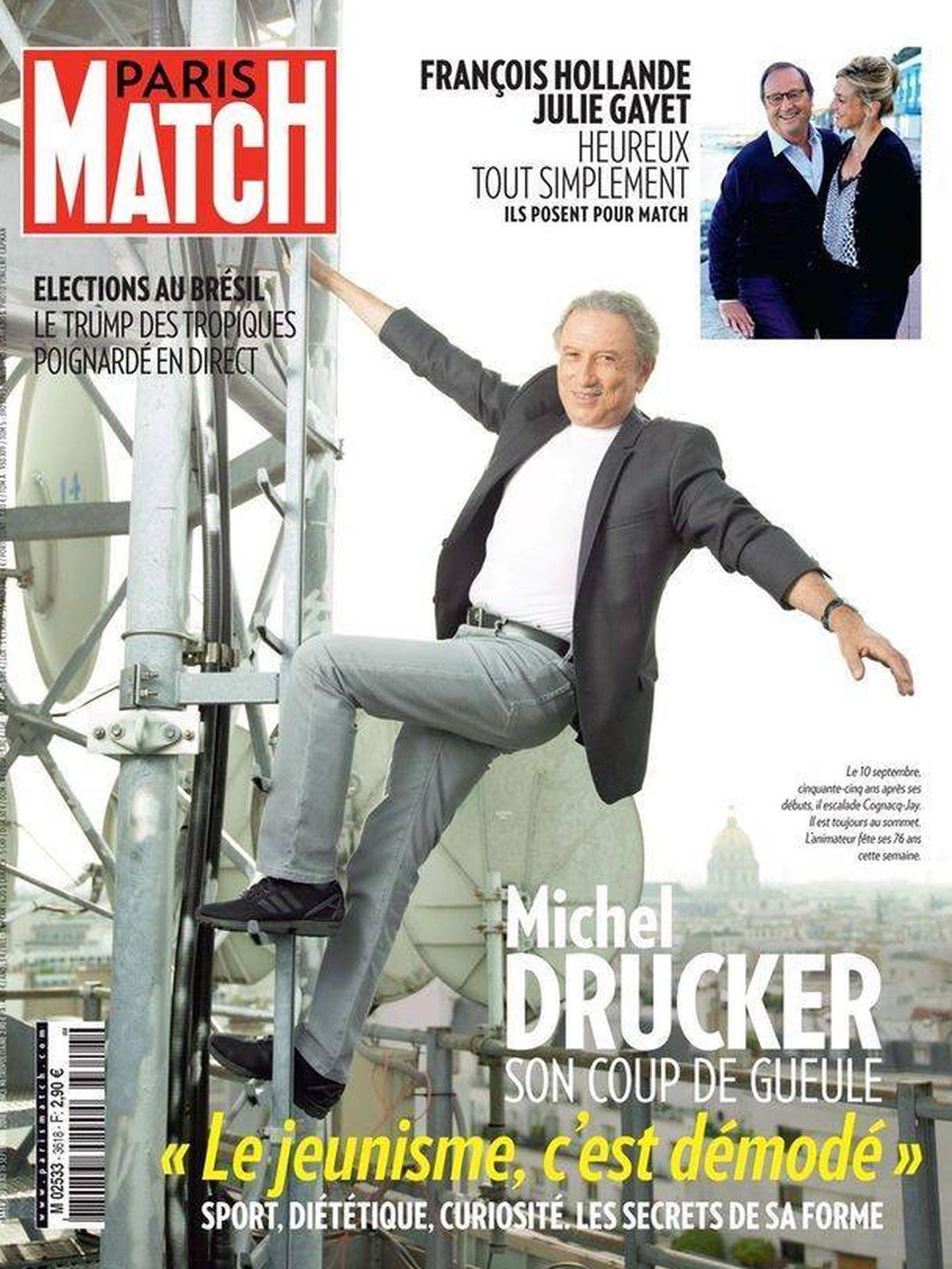 La portada en la que ambos han aparecido. (Paris Match)