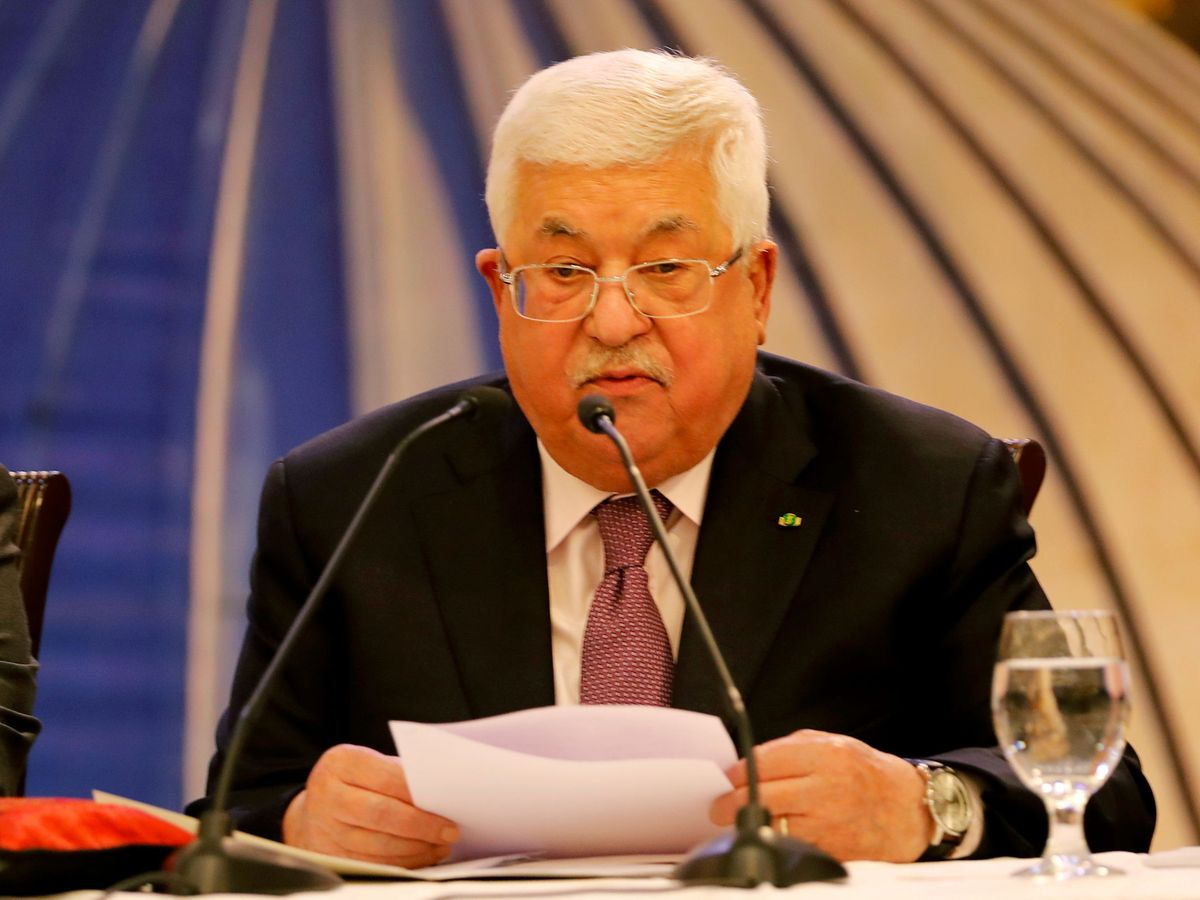 Foto: El presidente palestino, Mahmoud Abás. (Reuters)