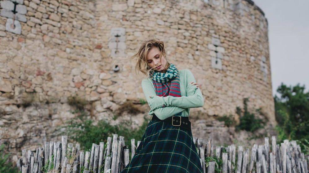 Foto: Haz hueco en tu armario para las prendas de cashmere, como este total look de la marca Again Cashmere. (Instagram)