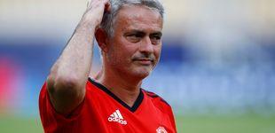 Post de Mourinho no quita ojo a Bale: