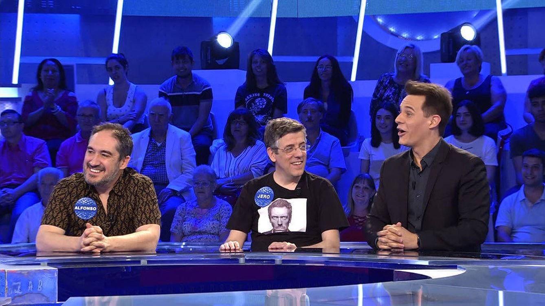 El divertido momento de Christian Gálvez como concursante de 'Pasapalabra'