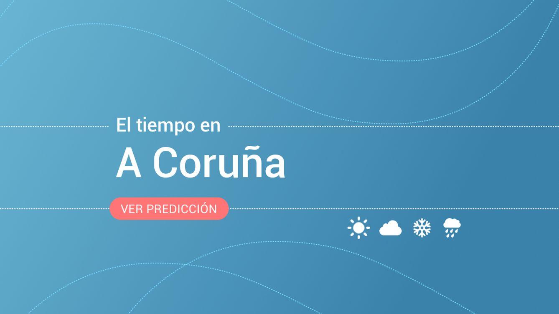 Previsión meteorológica en A Coruña: alerta amarilla por vientos y fenómenos costeros