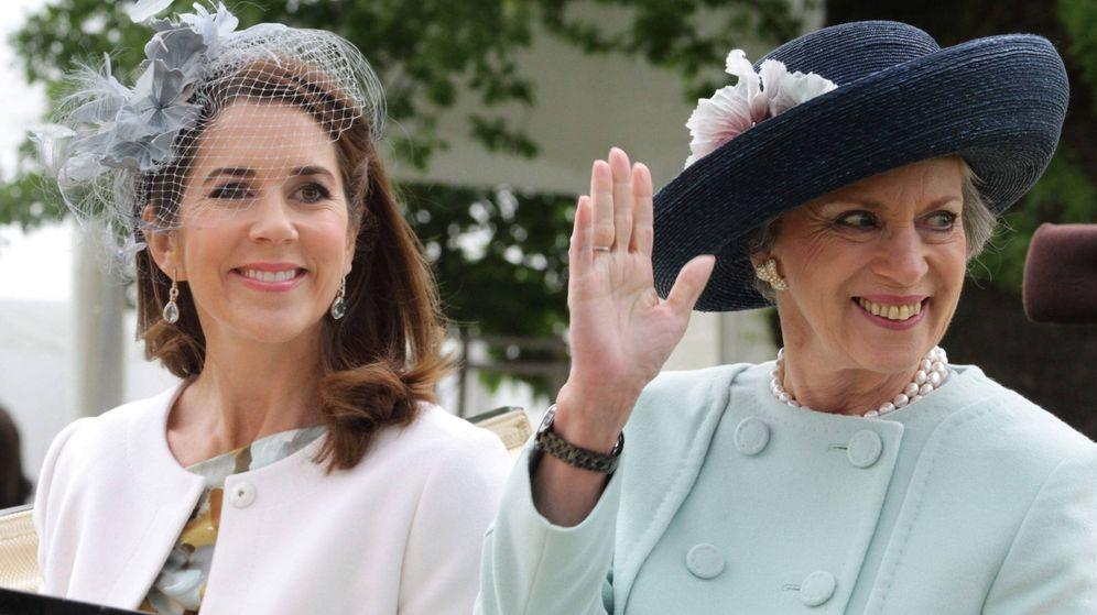 Foto: La princesa Benedicta y Mary de Dinamarca. (Cordon Press)