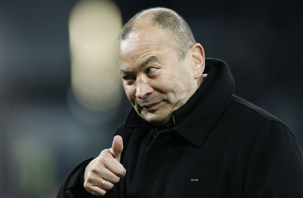 Foto: Eddie Jones ha transformado a Inglaterra (Reuters).