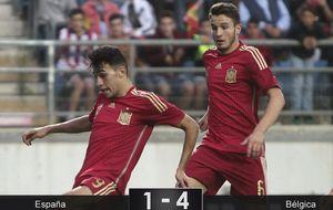 La sub-21 empieza su año sabático con una derrota ante Bélgica