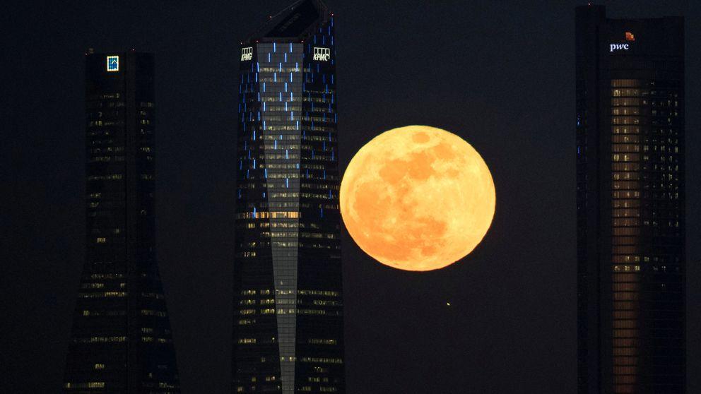 Las espectaculares imágenes que nos ha dejado la superluna de enero
