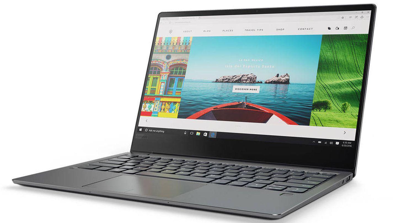 El IdeaPad 720s de Lenovo con poco más de 1 kilo de peso, es una opción mucho más asequible y unas características muy poderosas (Imagen: Lenovo)