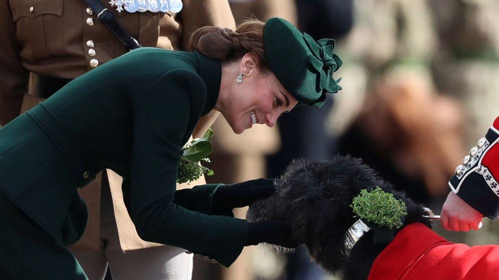 Foto: Kate Middleton, el día de San Patricio de 2019. (Reuters)