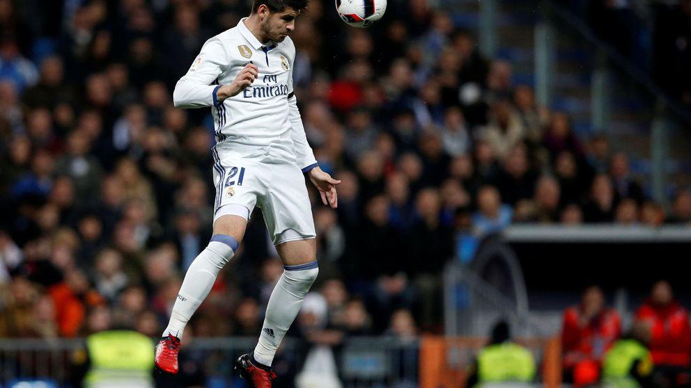 Un decepcionado ´Morata madura un poco más su salida del Real Madrid