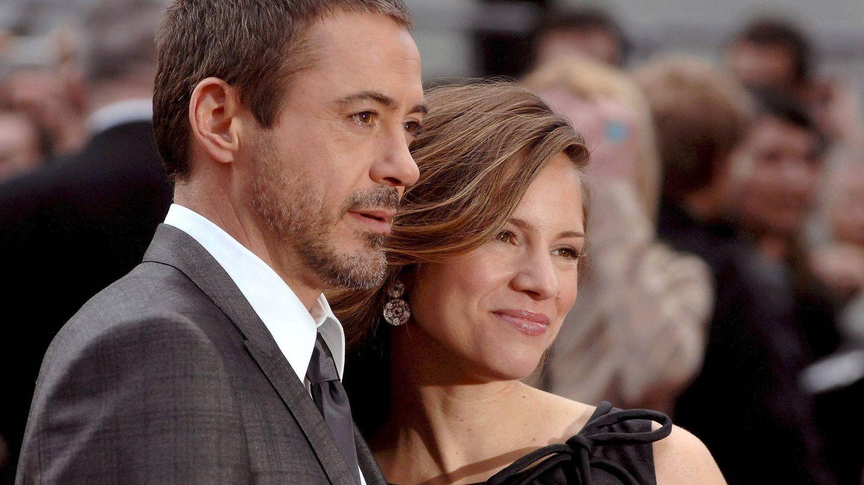 Robert Downey Jr y Susan Levin. (EFE)