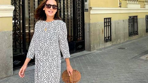 El vestido viral de lunares de Zara que llevó Tamara Falcó el año pasado vuelve en otoño