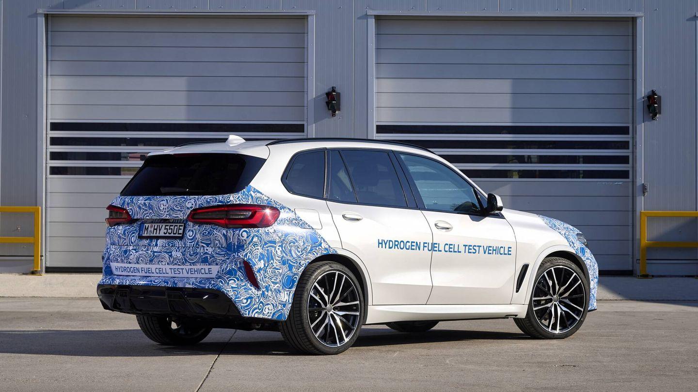 El BMW i Hydrogen Next que ya está en fase de pruebas anticipa un X5 eléctrico animado por pila de hidrógeno que llegará en 2025.