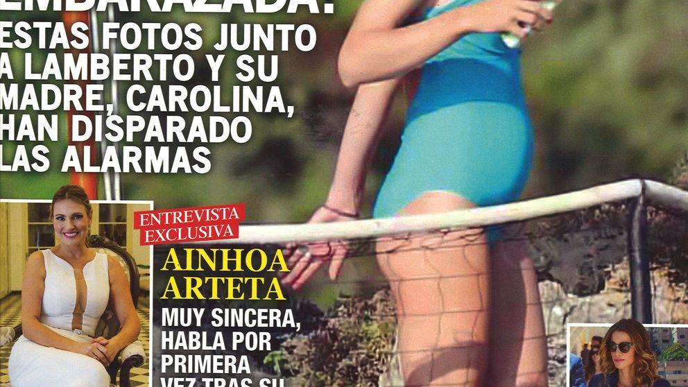 Kiosco Rosa: de Carlota Casiraghi a Steisy: famosos en bañador en las portadas de verano