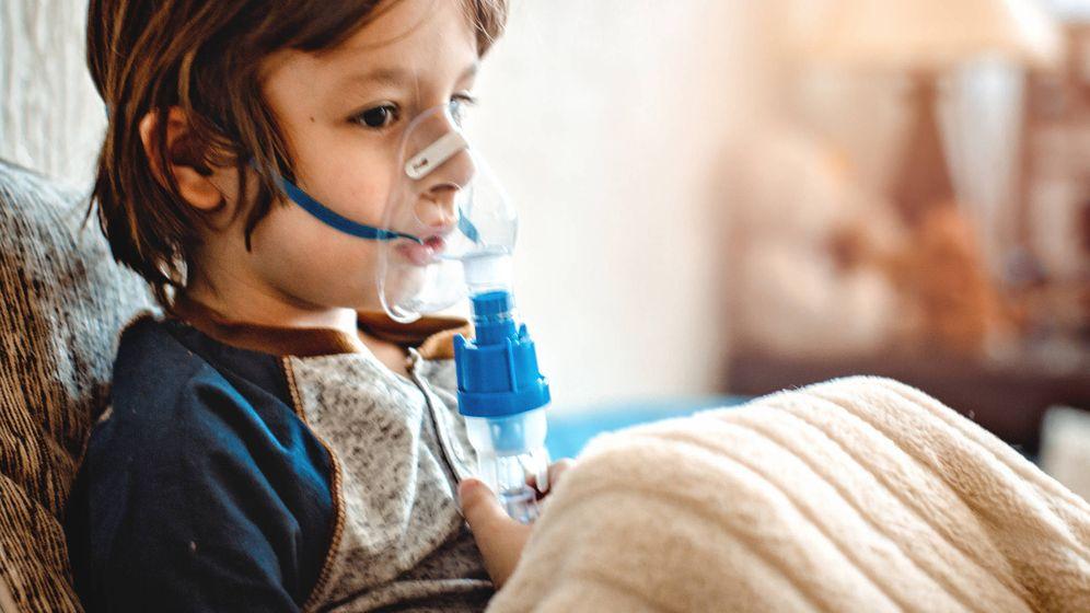 Foto: El asma es la principal causa de hospitalización infantil. (iStock)