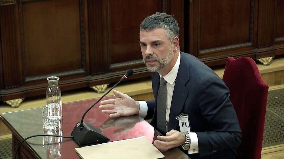 Foto: Santi Vila durante su declaración (EFE)