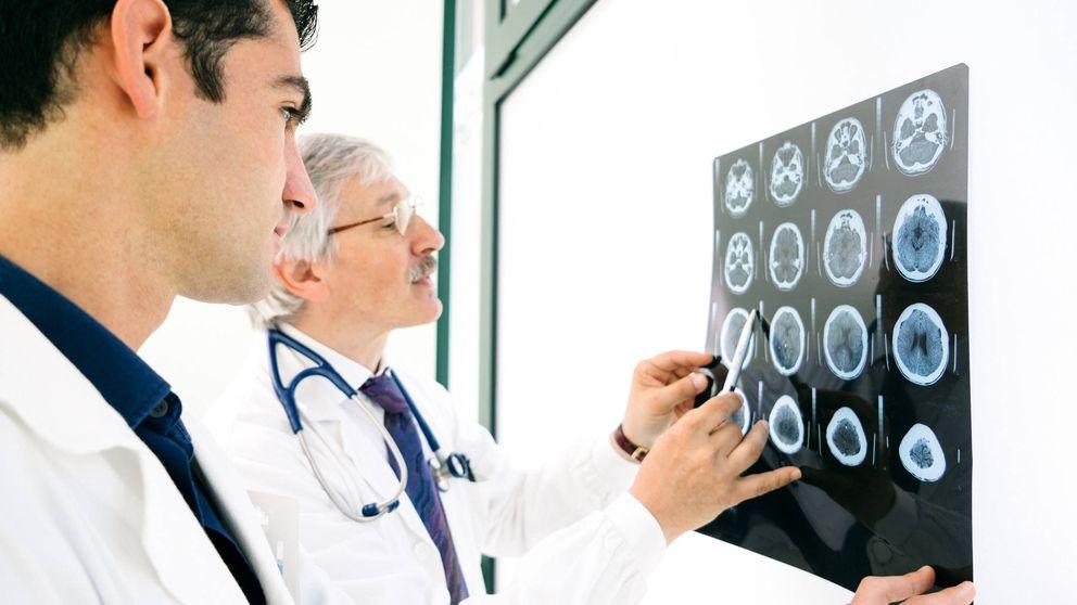 Los médicos hallaron aire donde tendría que estar su cerebro