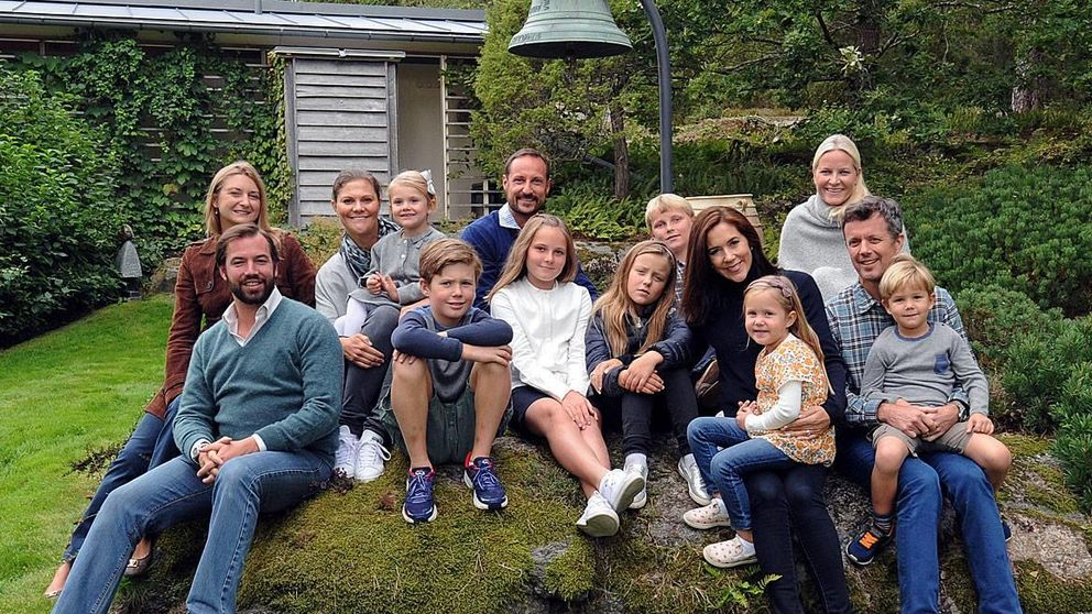 Haakon y Mette-Marit reúnen a los príncipes herederos europeos en Noruega