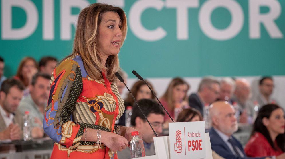 Foto: La expresidenta de la Junta de Andalucía Susana Díaz. (EFE)