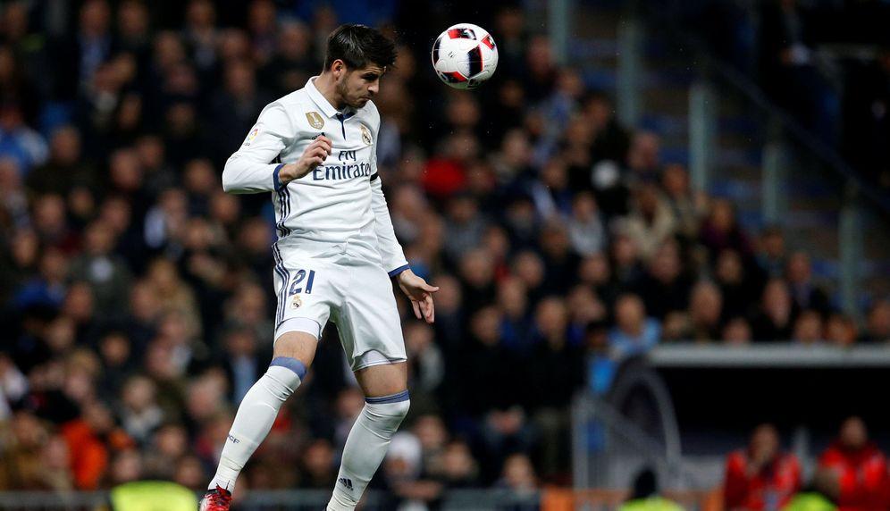 Foto: Álvaro Morata no está teniendo el protagonismo que esperaba cuando regresó al Real Madrid (Reuters)