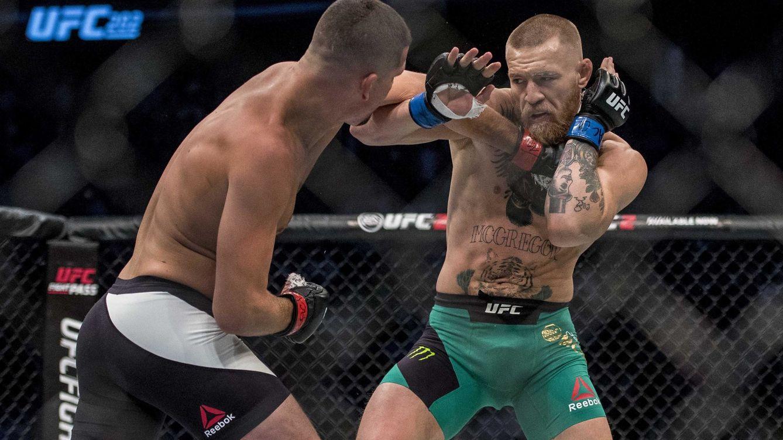 Foto: Conor McGregor y Nate Díaz se han enfrentado en dos ocasiones, la última en agosto de 2016. (USA Today Sports)