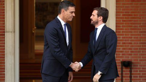Sánchez reúne hoy a Casado, Rivera e Iglesias tras la violencia en Cataluña