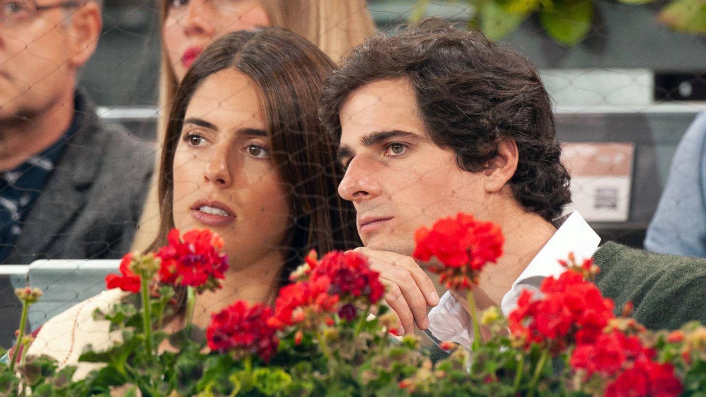 Sofía Palazuelo y Fernando Fitz-James, en el Mutua Madrid Open. (Getty)
