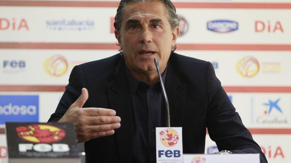 Foto: Sergio Scariolo añade el cargo de coordinador técnico al de seleccionador. (EFE)