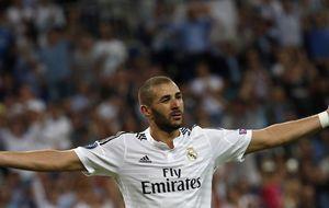 Benzema, el '9' al que su dorsal no le hace justicia sobre el césped