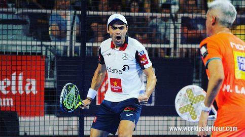 El puntazo de Galán en los cuartos de final del Gran Canaria Open