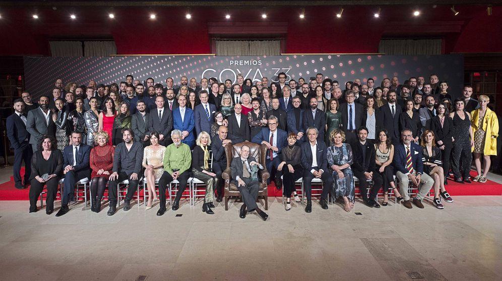 Foto: Foto de familia de los nominados a los Premios Goya 2019. (Academia de Cine)