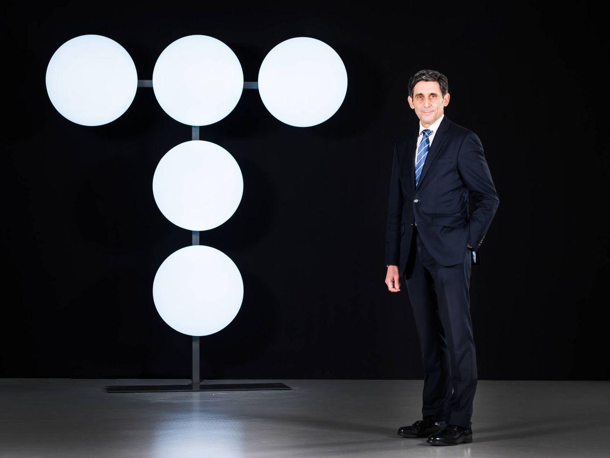 Foto: El presidente de Telefónica, José María Álvarez-Pallete.