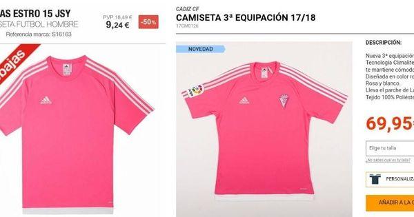 euros por camiseta es el 10así Fútbol70 que cuesta una Ybyf6g7