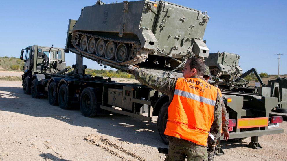 Defensa envía convoyes a Barcelona para apoyo logístico de Guardia Civil y Policía