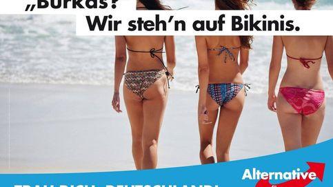 Bikinis, no burkas: la polémica con la que Alternativa para Alemania abre su campaña