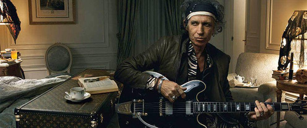 Foto: Keith Richards, el Rolling Stone que soñaba con ser bibliotecario