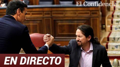 La sesión de investidura de Pedro Sánchez, en directo: segunda jornada y primera votación