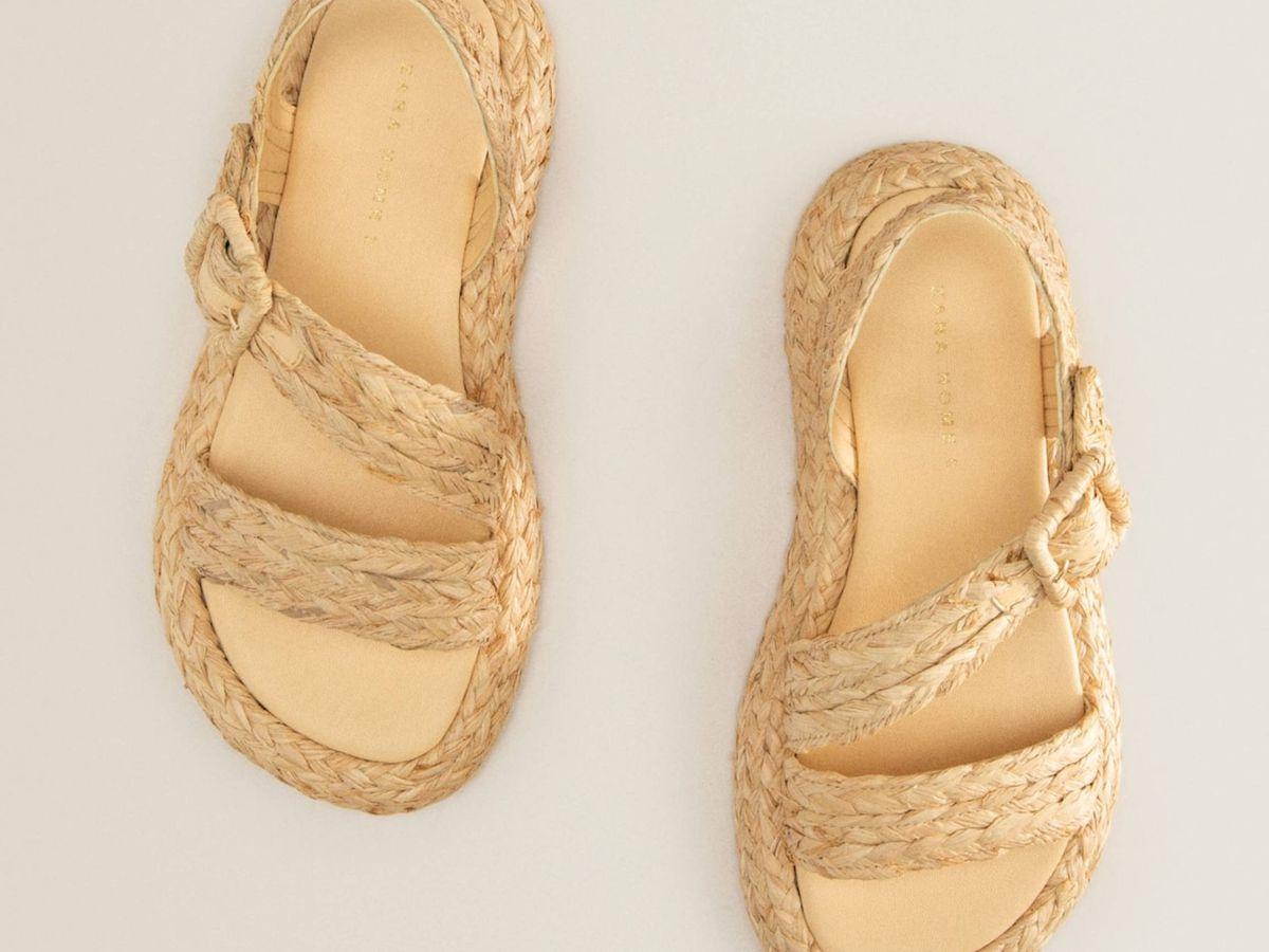 Foto: Las nuevas sandalias de Zara Home. (Cortesía)