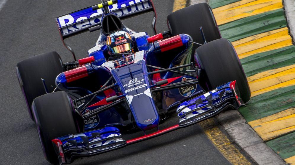 Foto: Sainz, durante la sesión clasificatoria del GP de Australia. (EFE)